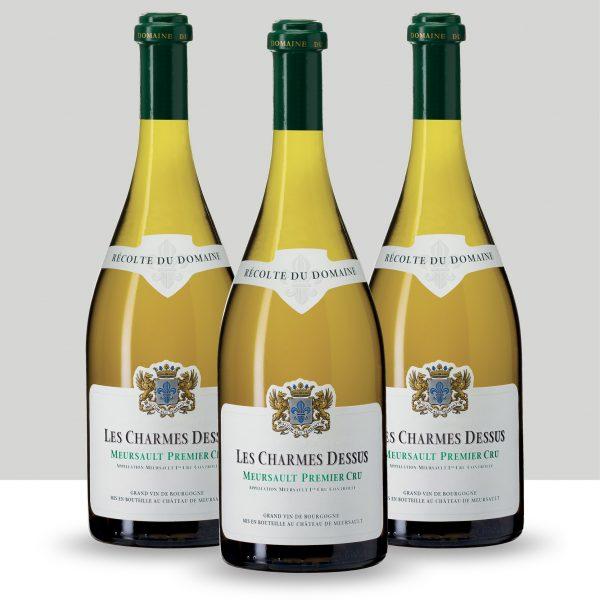 Lot 3 bouteilles Meursault Premier Cru Les Charmes Dessus 2018, Château de Meursault