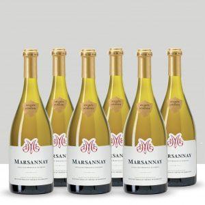 Batch of 6 - Marsannay blanc, Château de Marsannay