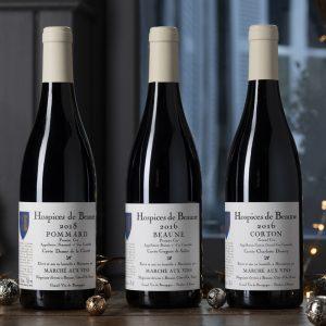 Assortiment Vins des hospices de Beaune- 3 bottles