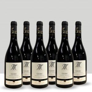 Lot de 6 bouteilles Givry Grand Terroir 2018, Domaine Fabrice Masse