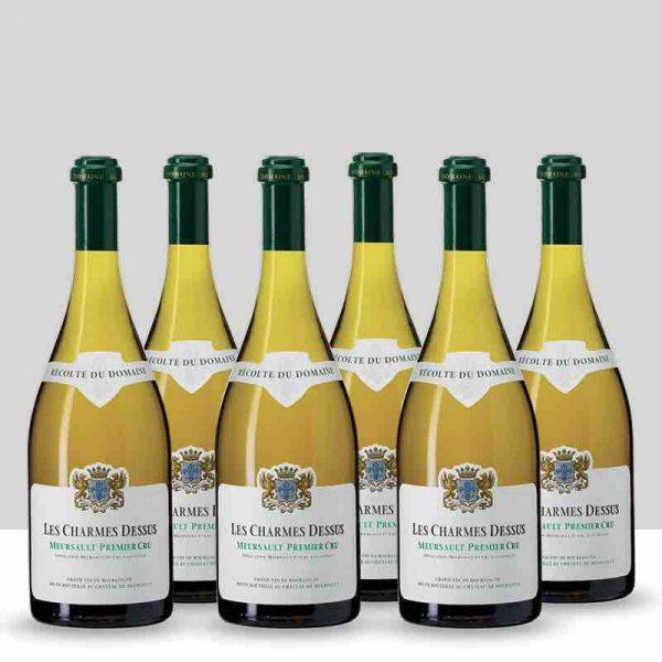 Lot 6 bouteilles Meursault Premier Cru Les Charmes Dessus, Château de Meursault 2017