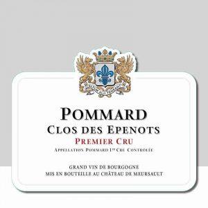 Pommard Clos des Epenots Premier Cru, Château de Meursault