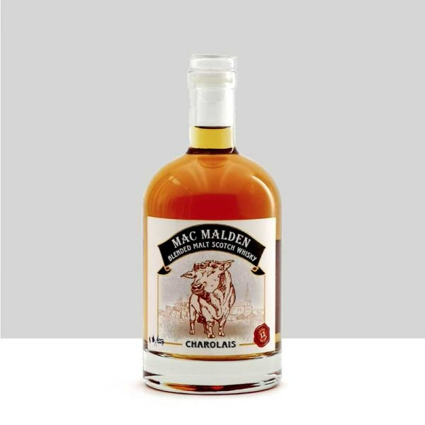 Charolais Blended Malt Scotch Whisky 12 ans d'âge, Mac Malden
