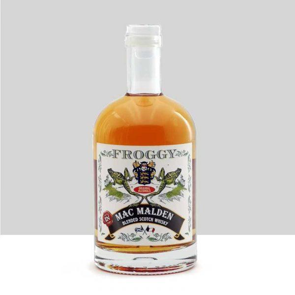 Froggy Blended Scotch Whisky, Mac Malden
