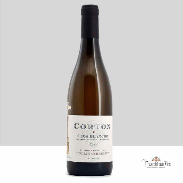 Corton Grand Cru Clos Blanche 2014, Domaine Claire et Stéphane Follin-Arbelet