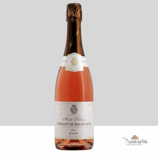 Crémant de Bourgogne Brut-rosé - André Delorme