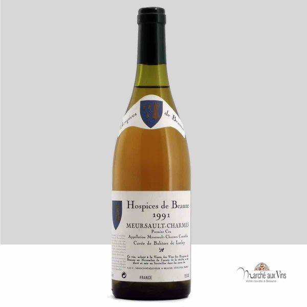 Meursault Charmes Cuvée Bahèzre de Lanlay 1991, Hospices de Beaune