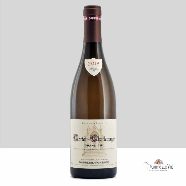 Corton Charlemagne Grand Cru 2018, Domaine Dubreuil Fontaine