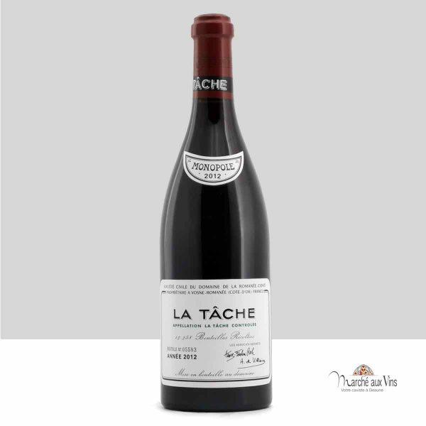 La Tache Grand Cru 2012, Domaine de la Romanee-Conti