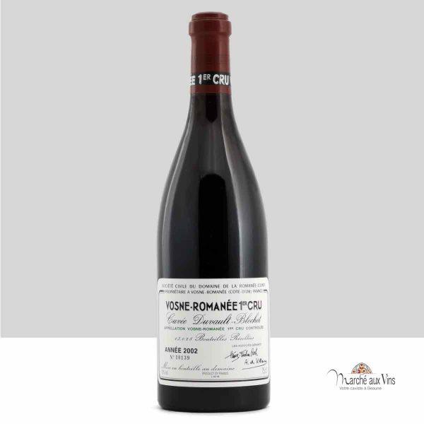 Vosne Romanee Premier Cru Cuvée Duvault Blochet 2002, Domaine de la Romanee-Conti