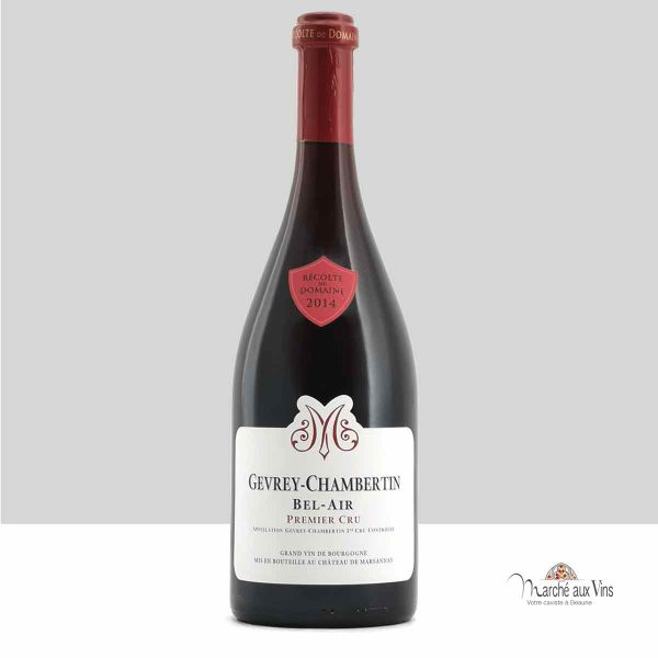 Gevrey-Chambertin Premier Cru Bel-Air 2014, Château de Marsannay