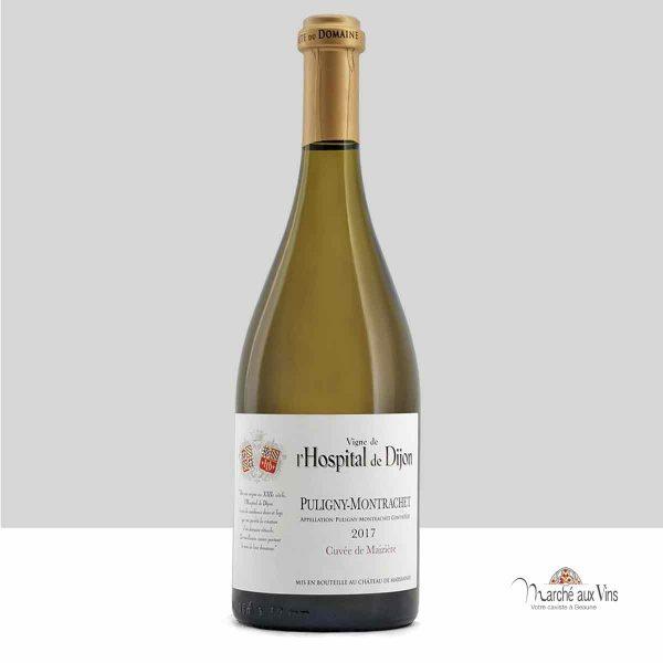 Puligny-Montrachet, Cuvée de Maizière 2017, vigne de l'Hospital de Dijon - Château de Marsannay