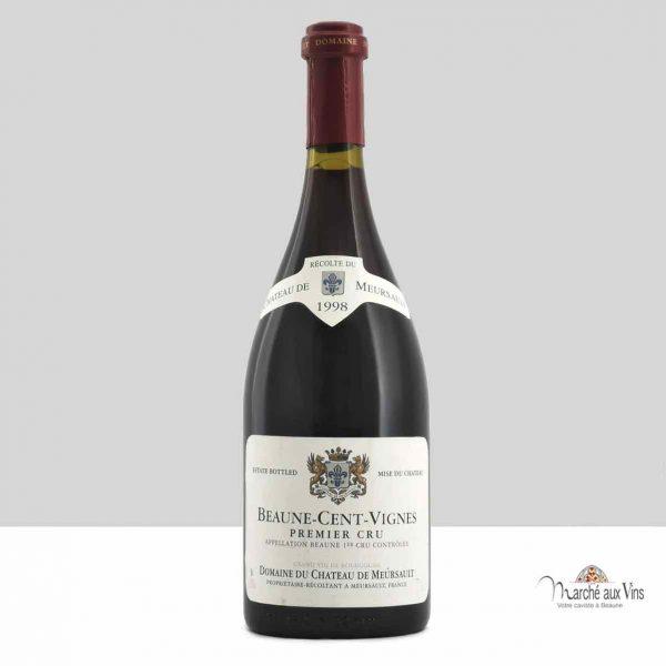 Beaune Cent Vignes Premier Cru 1998, Château de Meursault