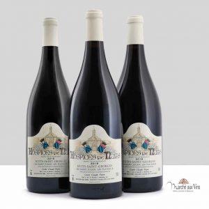 Lot de 3 Magnums - Nuits-St-Georges Les Saint Julien - Les Plateaux 2018, Hospices de Nuits, Cuvée Poyen