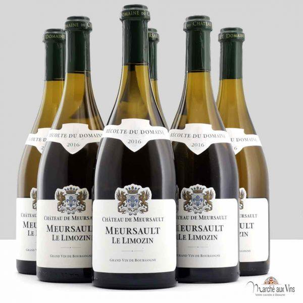Lot de 6 - Meursault Le Limozin 2016, Château de Meursault