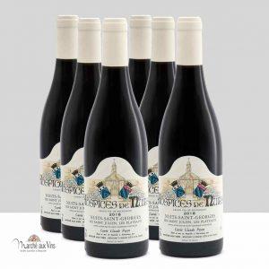 Set of 6 bottles - Nuits-St-Georges Les Saint Julien - Les Plateaux 2018, Hospices de Nuits, Cuvée Poyen