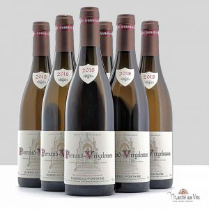 Set of 6 - Pernand-Vergelesses white 2018, Domaine Dubreuil Fontaine