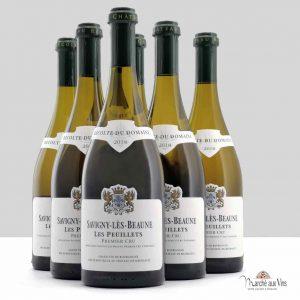 Lot de 6 - Savigny-Lès-Beaune Les Peuillets Premier Cru blanc 2018, Château de Meursault