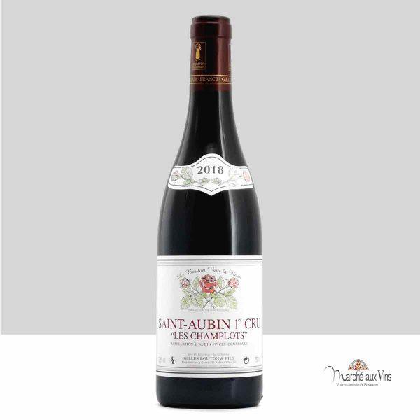 Saint-Aubin Premier Cru, Les Champlots red 2018, Domaine Gilles Bouton et Fils