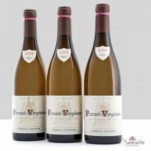 Set of 3 - Pernand-Vergelesses white 2018, Domaine Dubreuil Fontaine