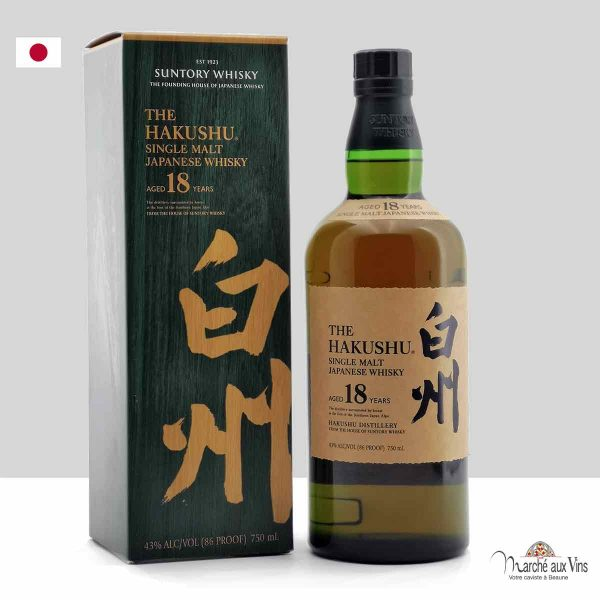 Whisky 18 Years Old, Hakushu Distillery