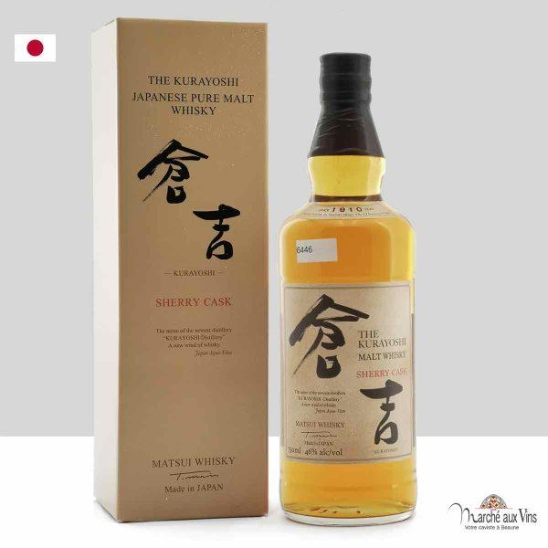 whisky kurayoshi sherry cask, matsui