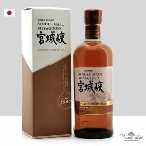 Whisky Miyagikyo Bourbon Wood Finish 2018, Miyagikyo