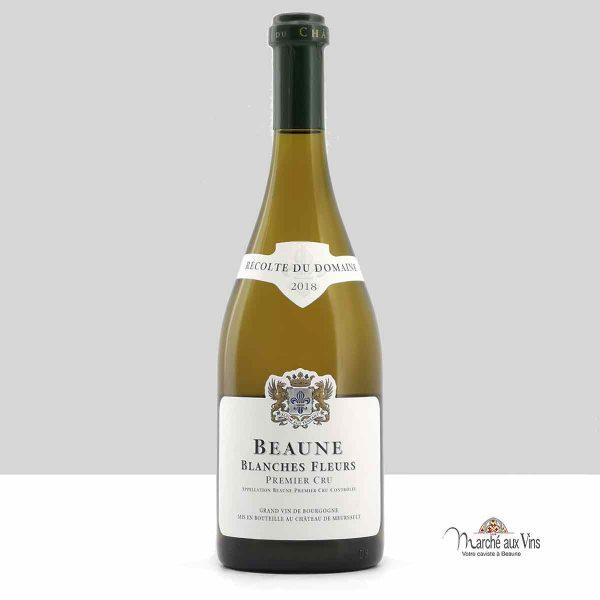 Beaune Blanches Fleurs Premier Cru 2018, Château de Meursault