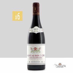 Lot de 6 - Saint-Aubin Premier Cru, Les Champlots rouge 2019, Domaine Gilles Bouton et Fils
