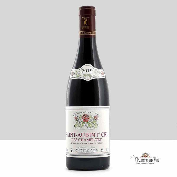 Saint-Aubin Premier Cru Les Champlots red 2019, Domaine Gilles Bouton et Fils