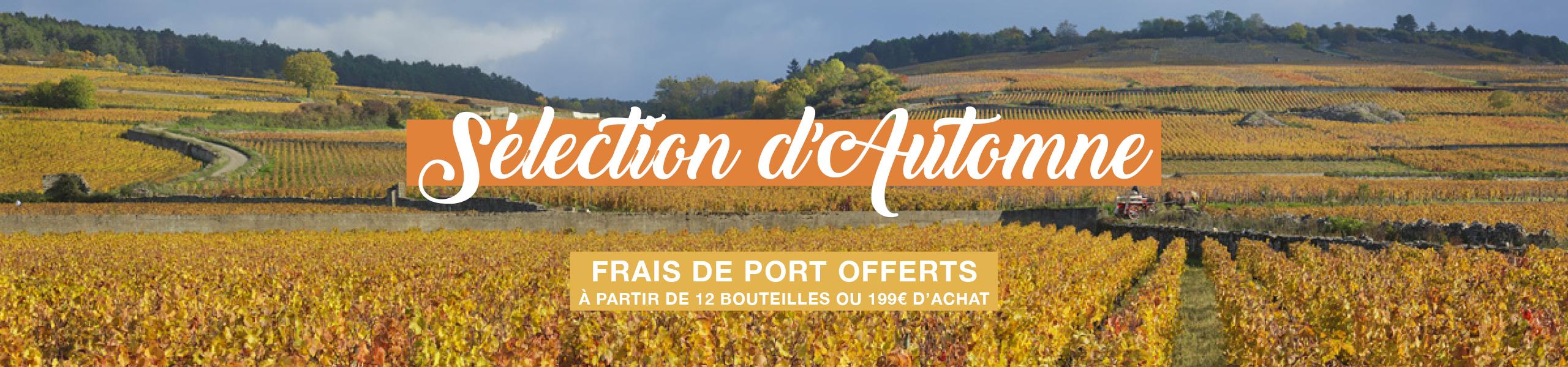 Marché aux Vins - sélection des vins d'automne