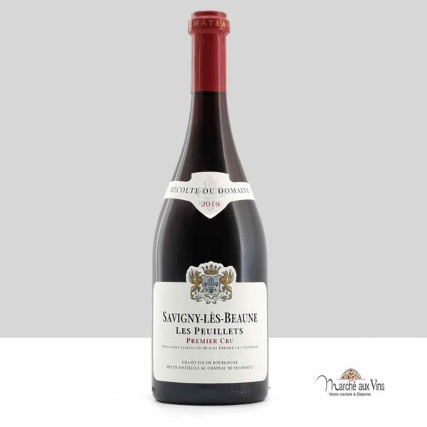 Savigny Peuillets Premier Cru 2019 rouge, Château de Meursault