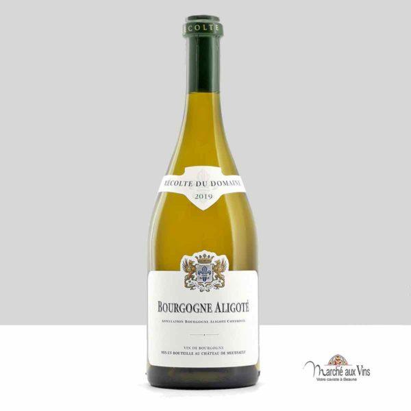 Bourgogne Aligoté 2019, Château de Meursault