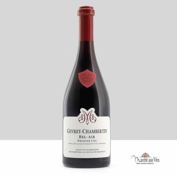 Gevrey-Chambertin Premier Cru Bel Air 2019, Château de Marsannay